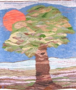 Baum und Sonne b