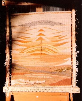 Landschaft gelb 1984