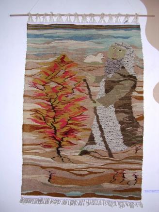 Moses vor dem brennenden Dornbusch
